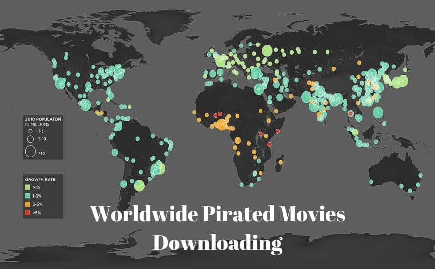 worldwide pirated movies downloading