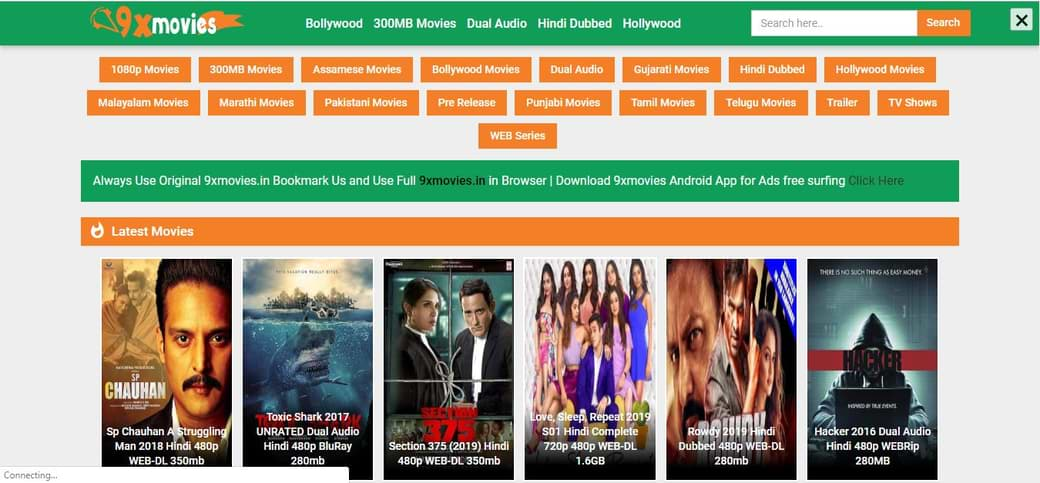 9xmovies watch online hindi movies