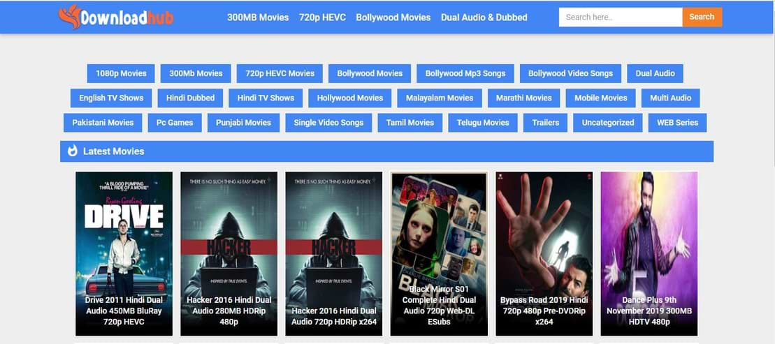 Downloadhub Download HD Movies