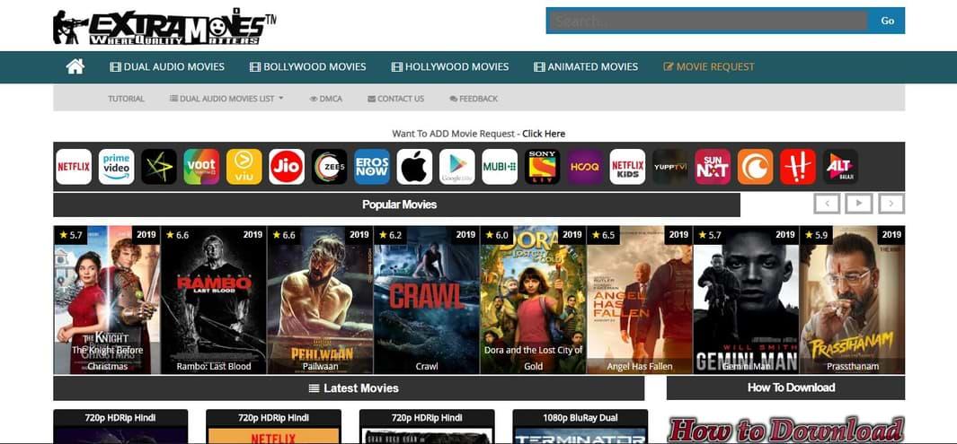 ExtraMovies Free Download Movies