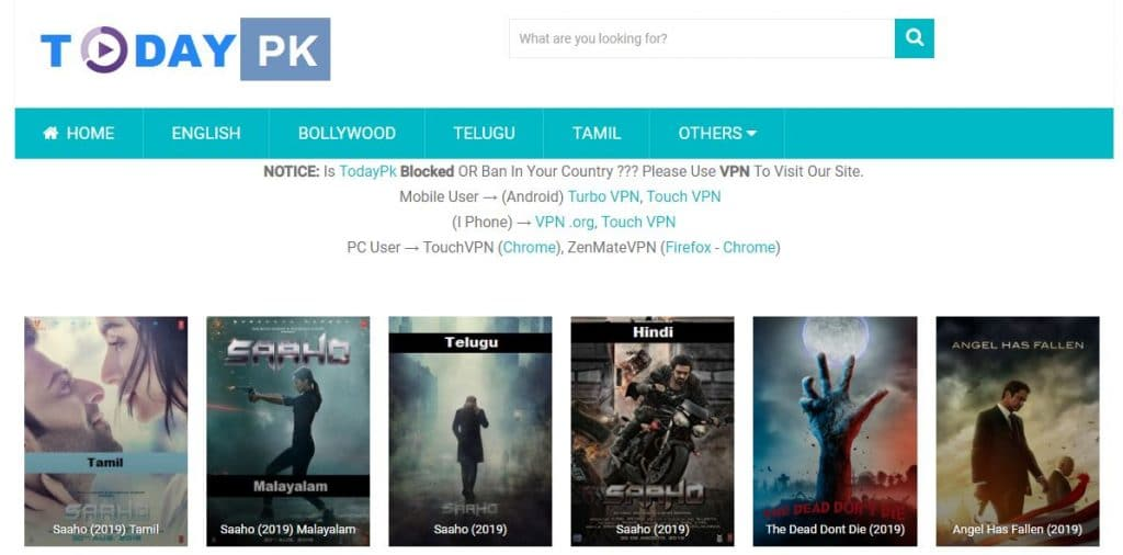 Todaypk Download HD Movies