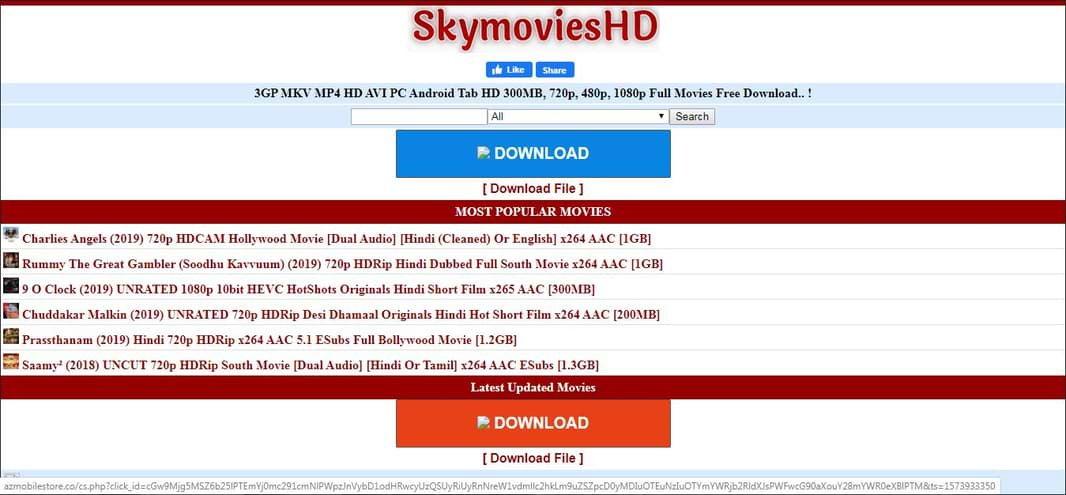 skymovieshd.one Download Movies