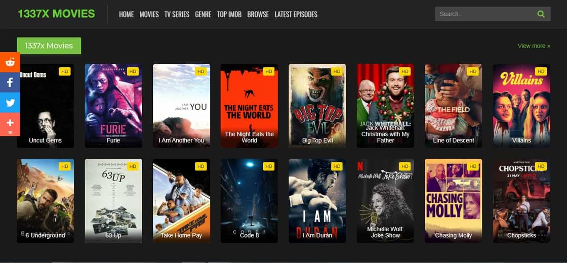 1337X Movies Download