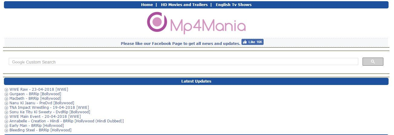 mp4mania-movies-list