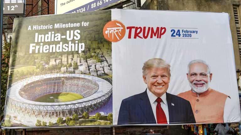 Donald Trump Visit India & Modi LIVE Updates: 24th Feb 2020