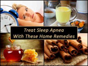 sleep apnea home remedies