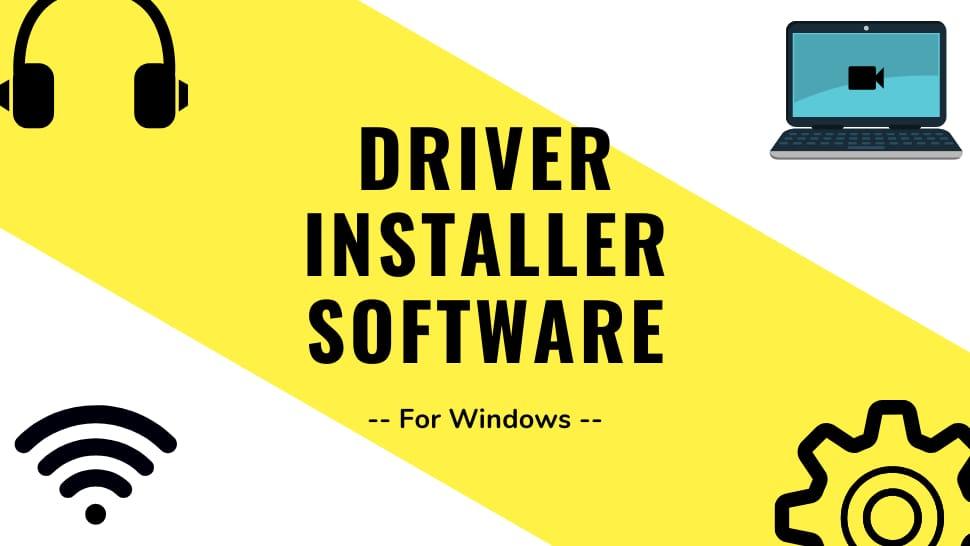 Driver Installer Software for Windows
