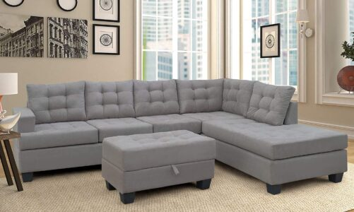 Beautiful Velvet Sectional Sofa To Enhance The Beauty Of Your Home